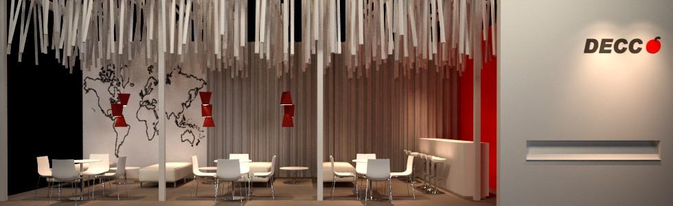 Arquitectura efimera y diseños de interiores