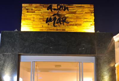 Proyecto de iluminación del restaurante A son de mar