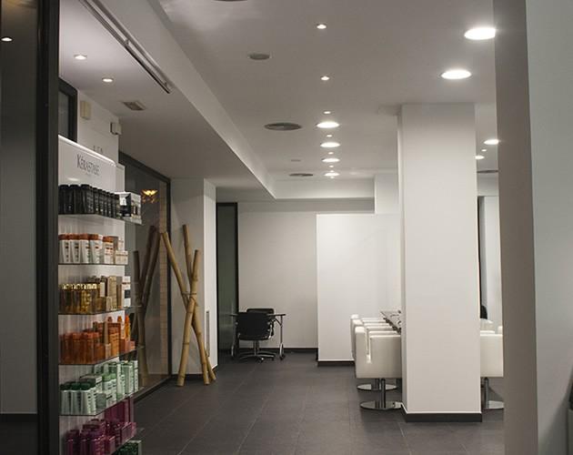 Proyecto de iluminaci n de la peluquer a essensuals london en valencia - Proyecto de peluqueria ...