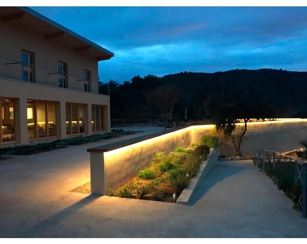 luminarias hotel exterior