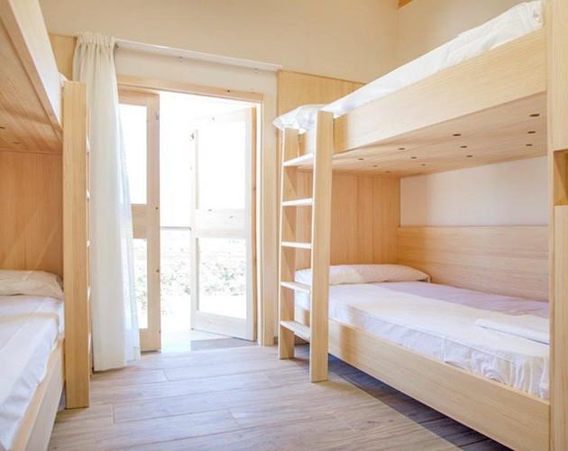 iluminación habitaciones albergue