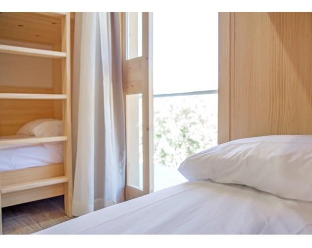iluminacion habitaciones albergue
